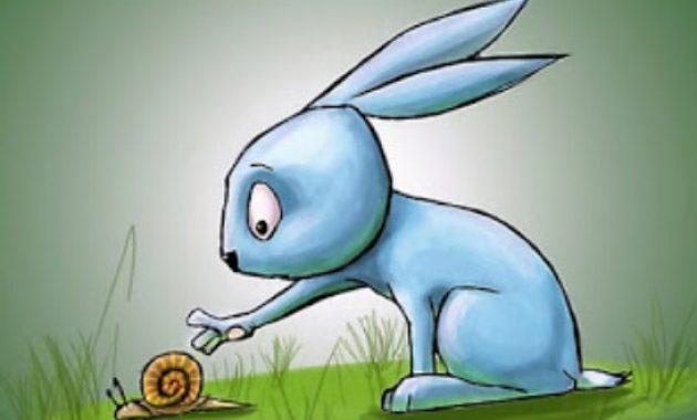 Fabel Kelinci dan siput