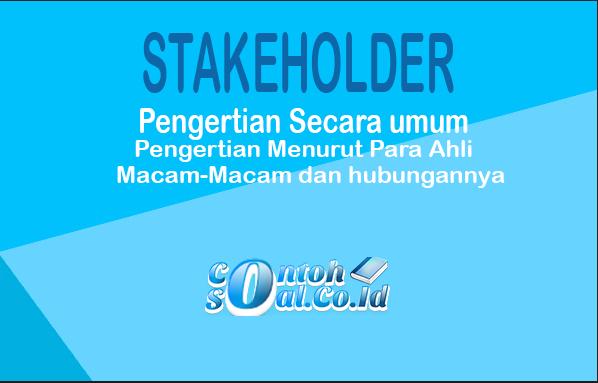 Stakeholder Adalah
