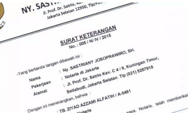 Contoh Surat Keterangan Kerja Kpr Visa Bank Kuliah