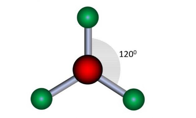 molekul segitiga datar