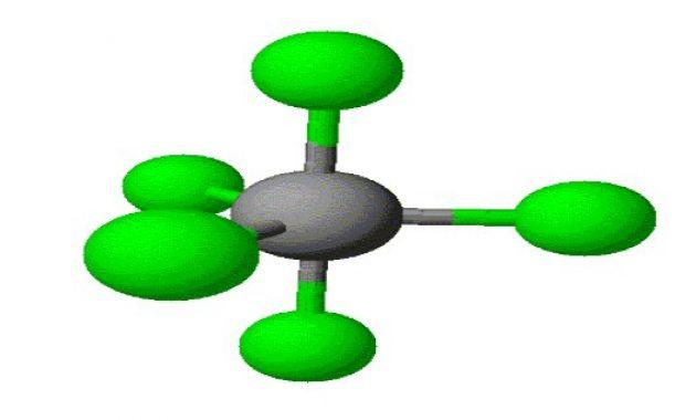 molekul trgional piramid