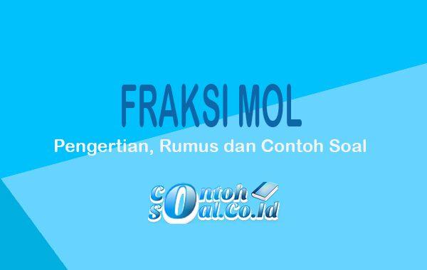 fraksi mol