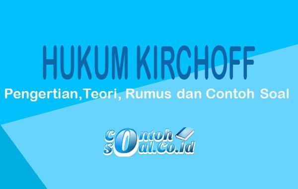 contoh hukum kirchoff