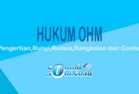 contoh hukum ohm