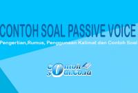 contoh soal passive voice