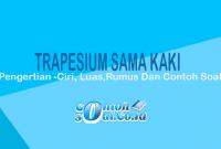 contoh trapesium