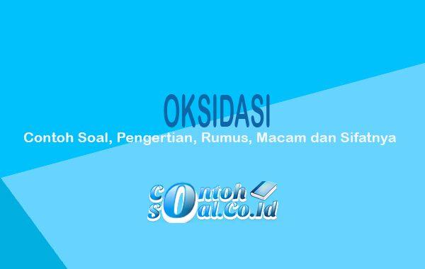 Oksidasi