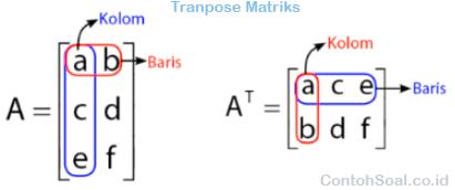 Transpose Matriks