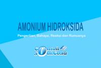 Amonium Hidroksida