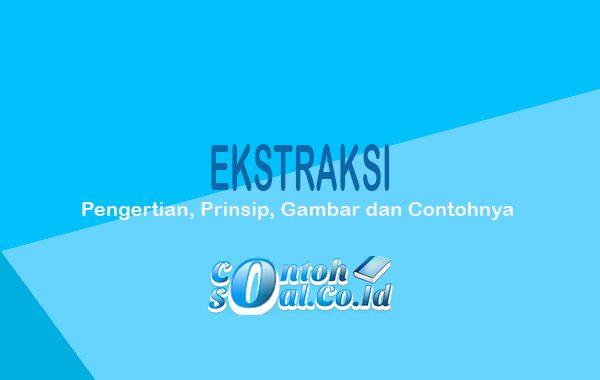 Ekstrasi