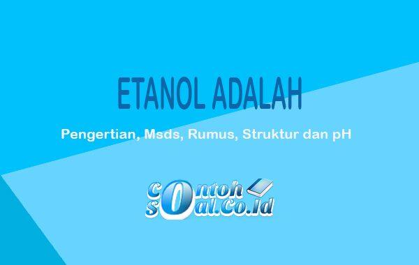 Etanol Adalah