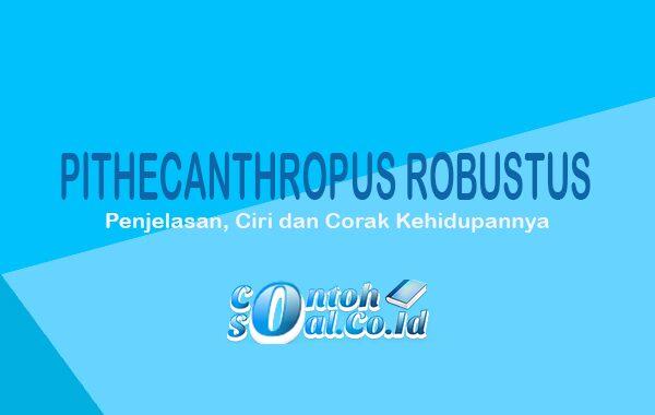 Pithecanthropus Robustus