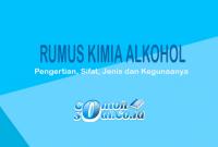 Rumus Kimia Alkohol