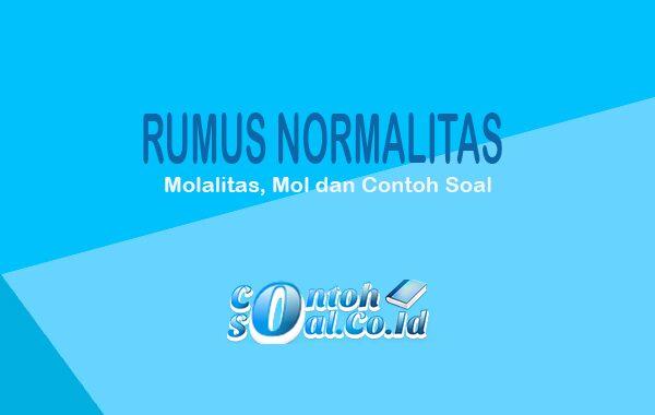 Rumus Normalitas