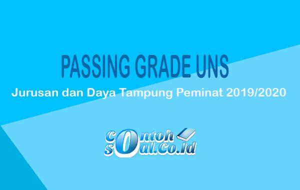 Passing Grade UNS