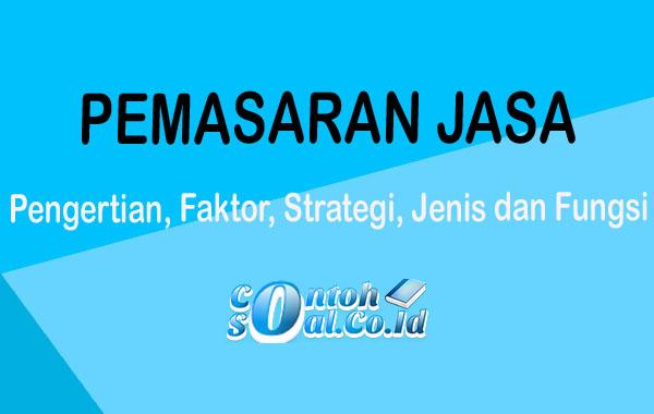 Pemasaran Jasa