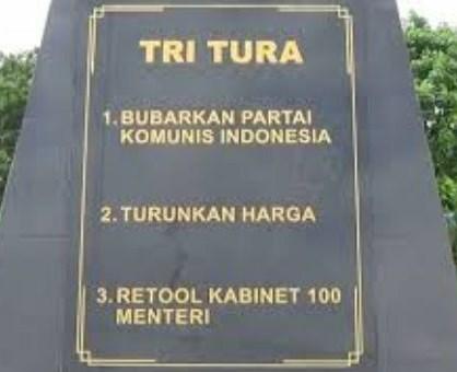 Foto Monumen Tritura