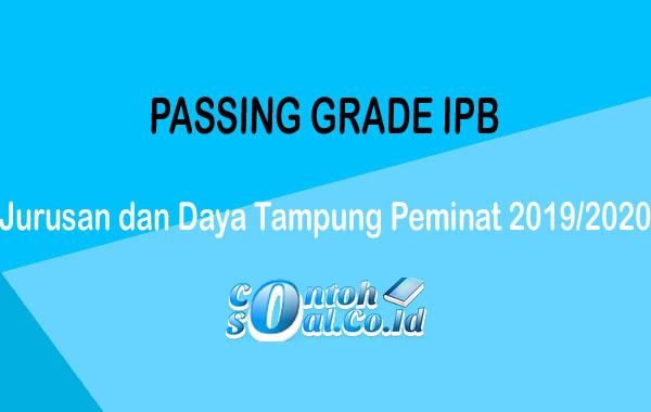 Passing Grade IPB