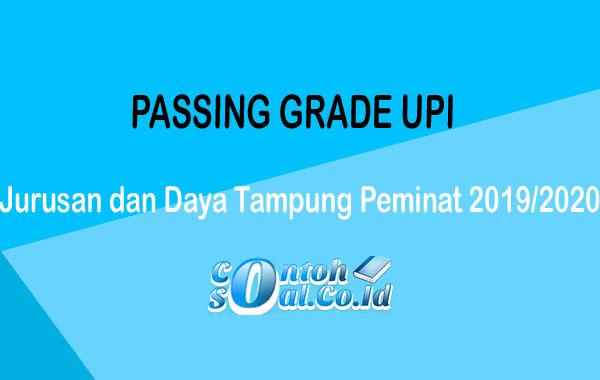 Passing Grade UPI