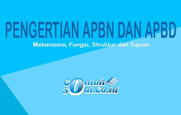 Pengertian APBN dan APBD