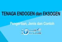 Tenaga Endogen dan Eksogen