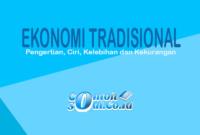 Ekonomi Tradisional