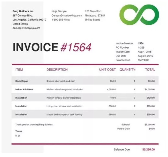 Contoh Invoice Jasa Excel Hotel Tagihan Beserta Fungsi Dan Jenisnya