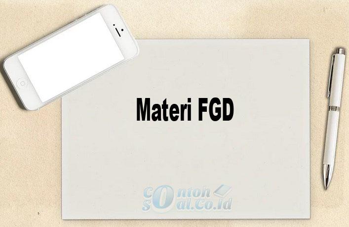 Materi FGD