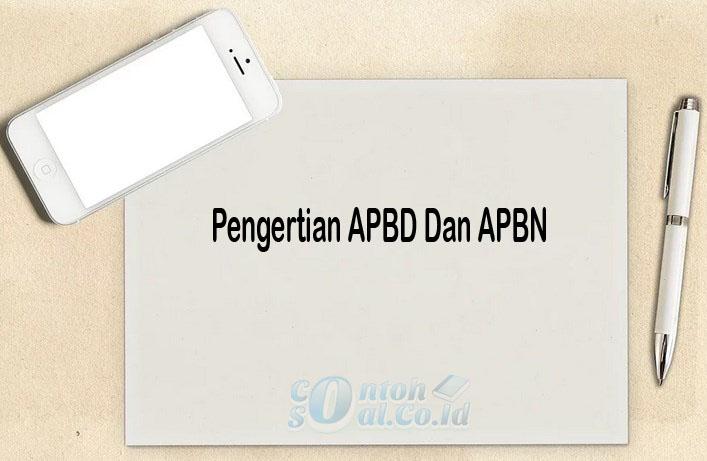 Pengertian APBD Dan APBN
