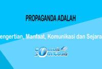 Propaganda Adalah