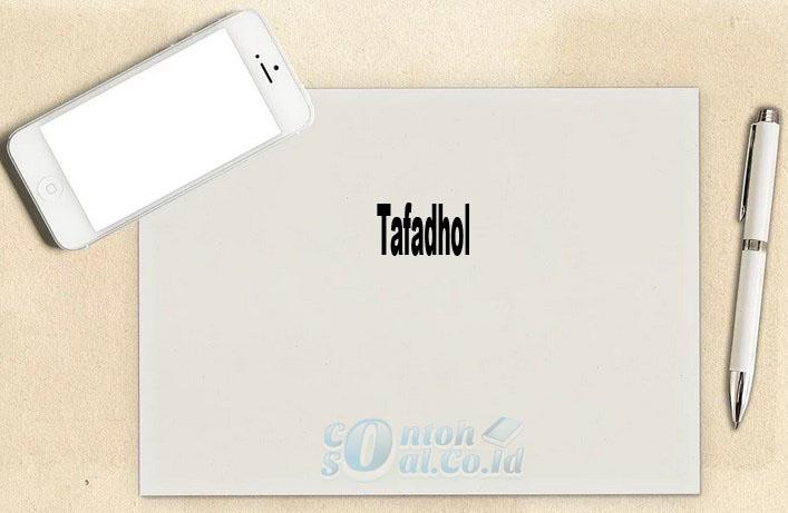 Tafadhol