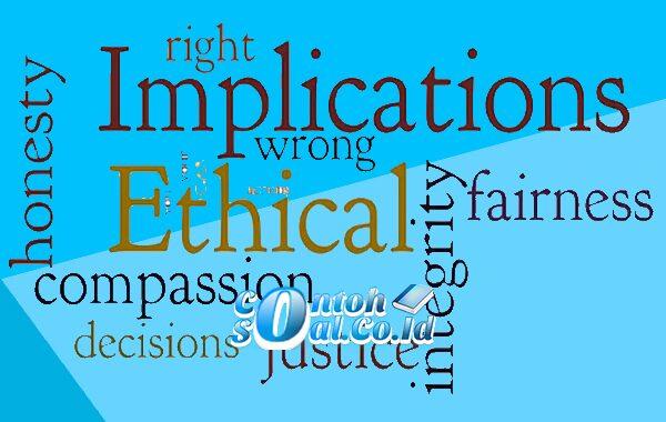 Implikasi Etika