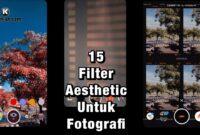 Kumpulan Filter IG Aesthetic Kekinian