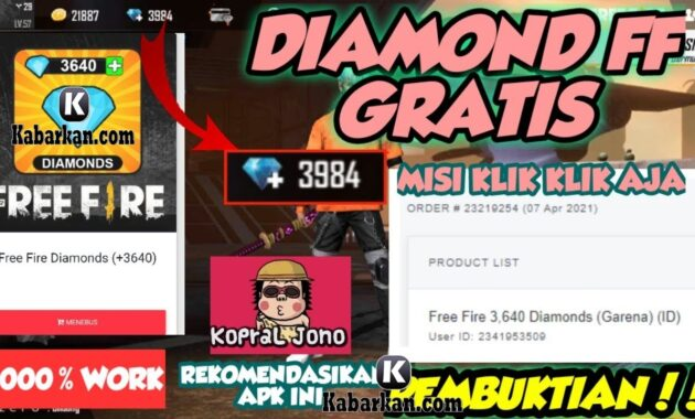 Cara Dapatkan Betsim Diamond FF